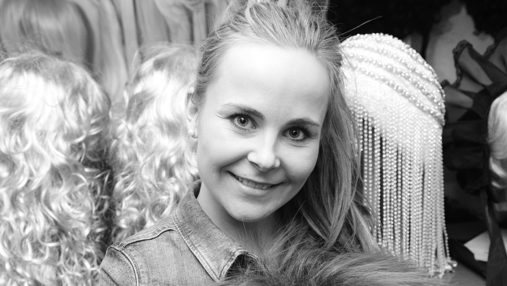 Joanna Konarska w pracowni. Fot. Archiwum Prywatne