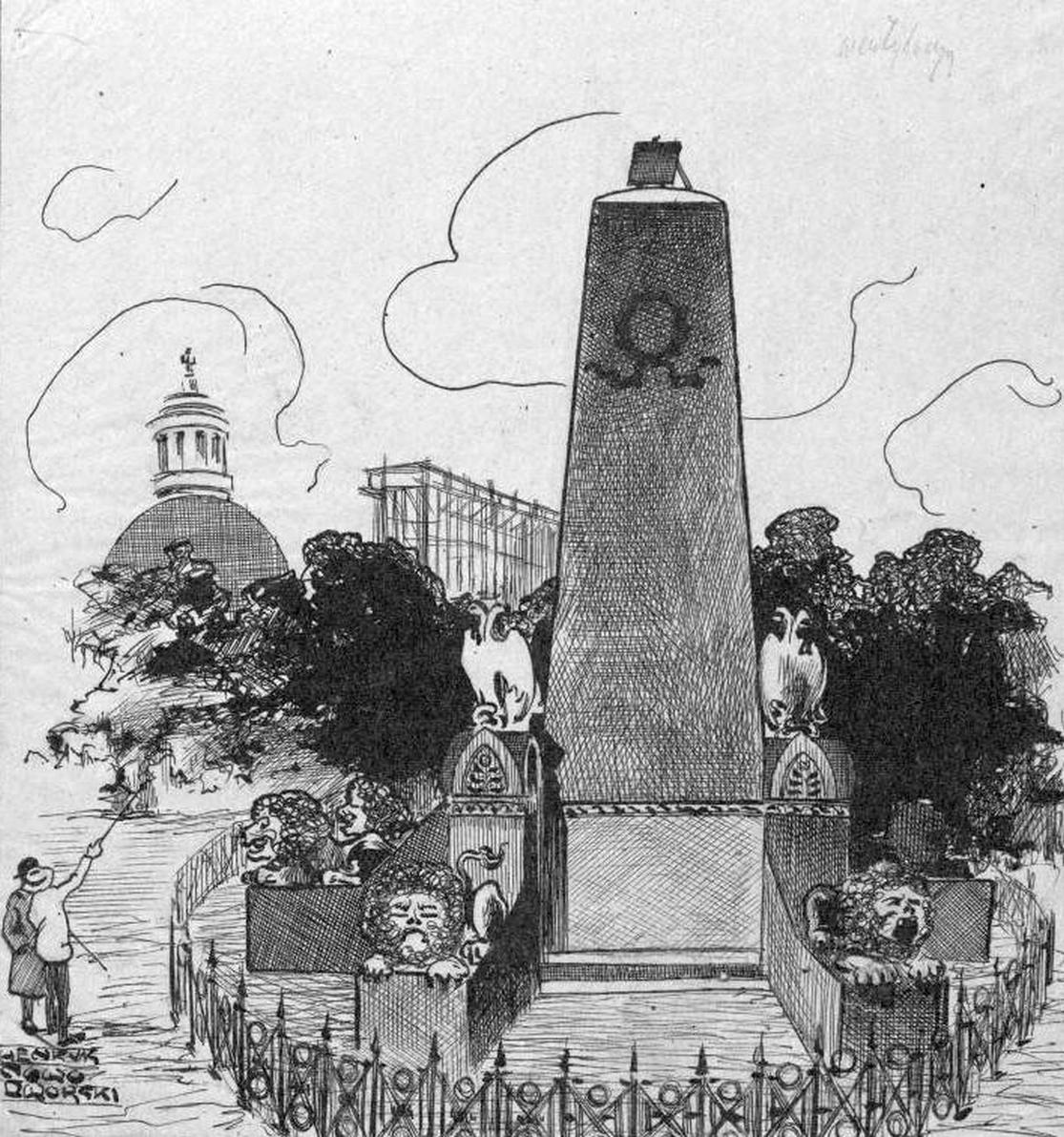 Pomnik lojalistów na Placu Zielonym Nowodworski