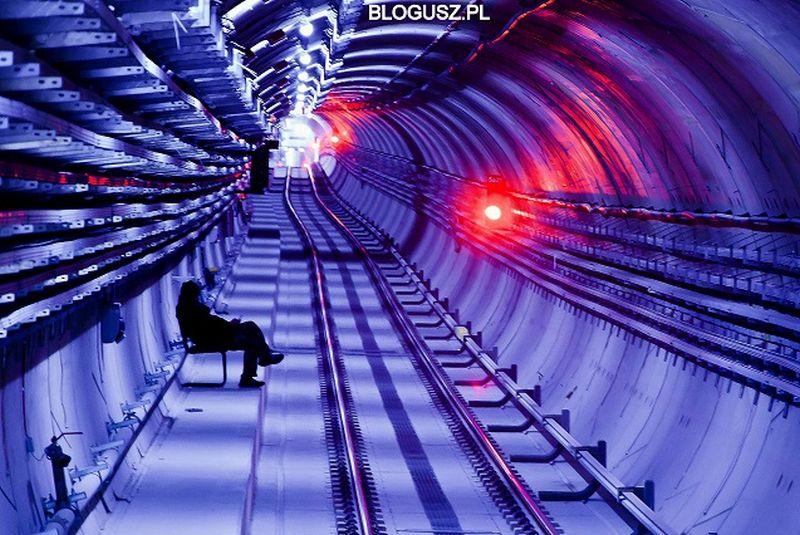 Tunel dobrze chroniony aka Potwór w metrze fot. Blogusz